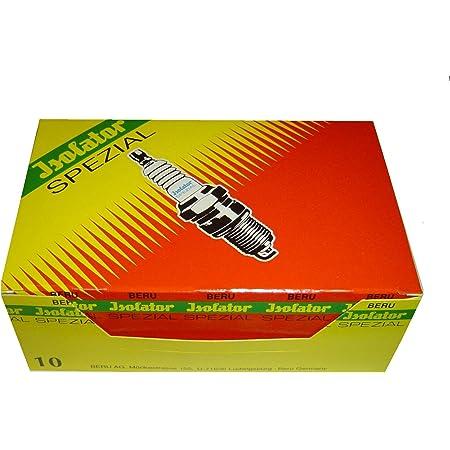 Zündkerzen M14 225 Isolator Spezial 10 Stück Passend Für Simson S50 S51 S70 S53 Sr50 Sr80 Kr51 1 Kr51 2 Sr4 1 Sr4 2 Sr4 3 Sr4 4 Auto