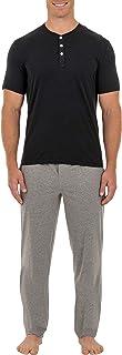 Men's 2-Piece Jersey Knit Pajama Set