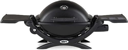 Weber-51010001-Q1200-Liquid-Propane-Grill,-Black