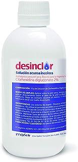comprar comparacion Desinclor Clorhexidina Acuosa Incolora 2% Antiseptico - 250 ml tapon