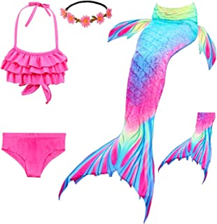 mermaid bathing suit with tail