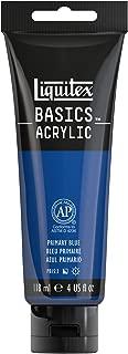 Liquitex BASICS Acrylic Paint, 4-oz tube, Primary Blue