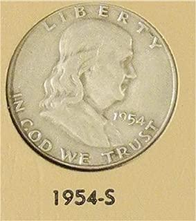 1954 S Franklin Half Dollar Very Good