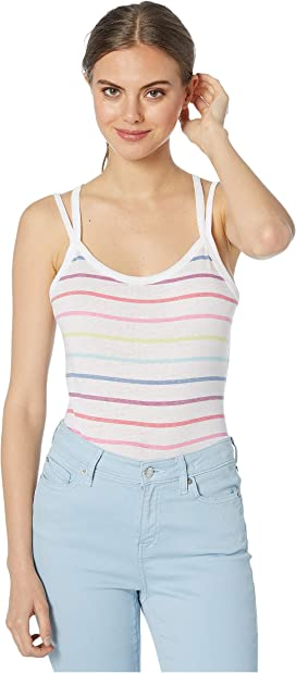 c502d3894 Vintage Jersey Strappy Racerback Tank Top