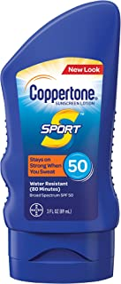 COPPERTONE SPORT 防晒 LOTION 3 OUNCE