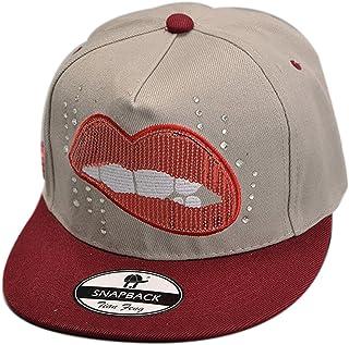 Belsen gorra de b/éisbol con dise/ño de letra triangular para mujer
