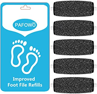 5 Extra Coarse Replacement Roller Refill Heads Compatible With Amope Pedi Perfect Electronic Foot File with Diamond Crystals