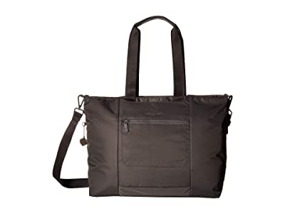 Hedgren Swing Large Tote with RFID (Tornado Grey) Tote Handbags