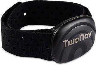 TwoNav Sensor de frecuencia Cardiaca para Brazo, controla Tus pulsaciones en Tiempo Real