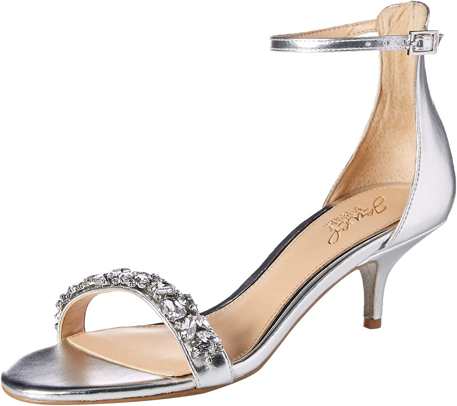 Badgley Mischka Womens Dash Heeled Sandal