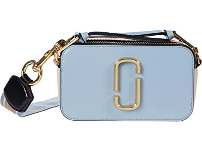Marc Jacobs Snapshot Crossbody (Skyline Blue Multi) Handbags