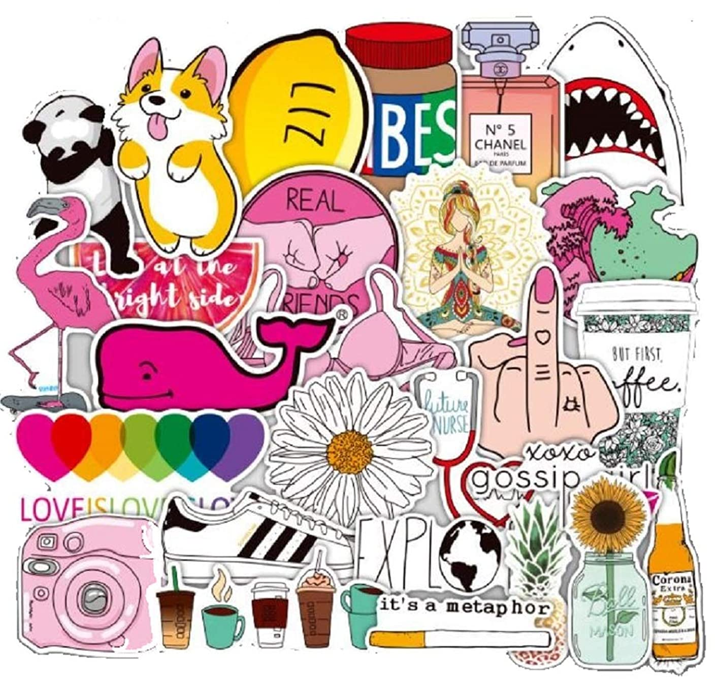 Laptop Stickers (Multi-Color) imckwbov15399298