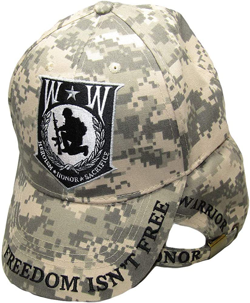 Wounded Warrior Heroism Honor Sacrifice Large special price Isn't Freedom C Free ACU NEW before selling ☆