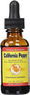 Natural Balance 500 mg California Poppy Extract, 1 Ounce