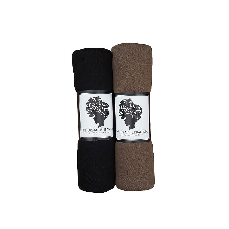 The Urban Turbanista Headwraps & Turbans Stretch Jersey Knit Head Wraps | 18 Colors