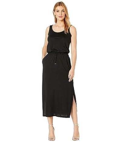 LAUREN Ralph Lauren Jersey Sleeveless Maxi Dress (Black) Women