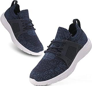 Kids Boys Girls Running Shoes Comfortable Lightweight Slip on Sneakers Athletic Tennis...