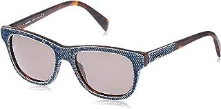 Denim Wayfarer Sunglasses in Blue Denim DL0111 92N 52