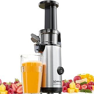 Keenray Extracteur de jus professionnel, mini Extracteur à jus vertical, moteur silencieux, cruche 600ML, sans BPA, design...