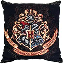 Harry Potter Hogwarts Décor Woven Tapestry Throw Pillow, 18 x 20, Multi Color