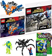 Mini Blast Buildable Heroes Mega Teenage Mutant Ninja Turtles Stealth Leo Micro Figure Out of The Shadows Comic + Spider-Man VS Venom Symbiote Alien / Guardians Starship Milano Galaxy Space Explorer
