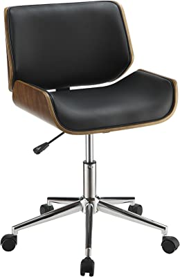 Swell Amazon Com Ofm Essentials Collection Armless Leather Desk Alphanode Cool Chair Designs And Ideas Alphanodeonline