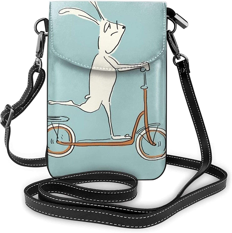 Scooter - Bolso bandolera para teléfono celular, con correa ajustable, color azul
