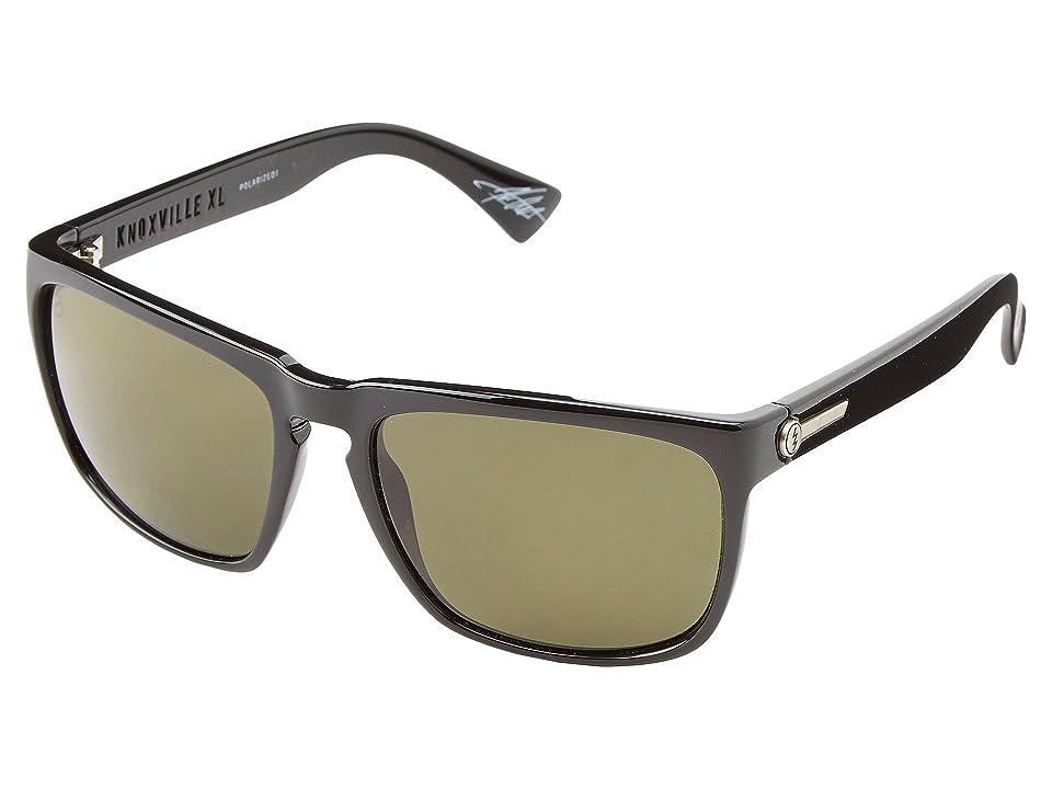 Electric Eyewear Knoxville XL Polarized (Gloss Black/M1 Grey Polar) Sport Sunglasses