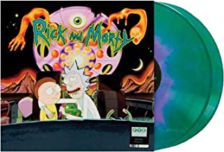 Rick and Morty Exclusive vinyl (Dark Green and Purple) [vinyl] Justin Roiland