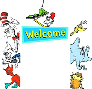 Eureka EU-842660BN Dr. Seuss Welcome Go-Arounds, 8 Pieces Per Set, 3 Sets