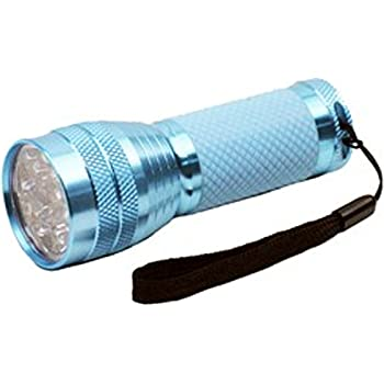 Dorcy 100-Lumen Weather Resistant Glow-In-The-Dark LED Flashlight with Lanyard and Aluminum Construction, Assorted Colors (41-4254)