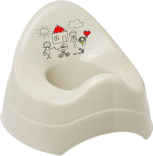 Name Spritzschutz Babyt/öpfchen // Kindertopf // Lernt/öpfchen Toilettentrainer gro.. inkl Bieco mit gro/ßer Lehne alles-meine.de GmbH T/öpfchen // Nachttopf // Babytopf rot