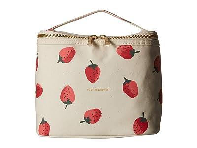 Kate Spade New York Strawberries Lunch Tote (Multi) Handbags