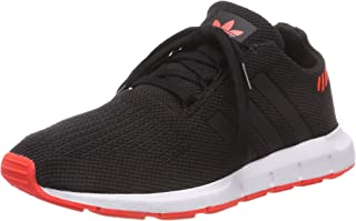 adidas Boys' Swift Run Shoes, Core Black/Core Black/Solar Red
