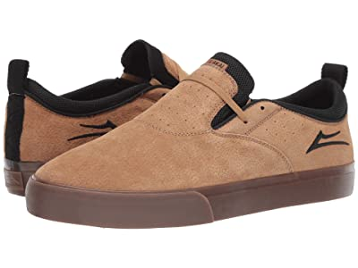 Lakai Riley Hawk 2 (Tobacco Synthetic Nubuck) Men