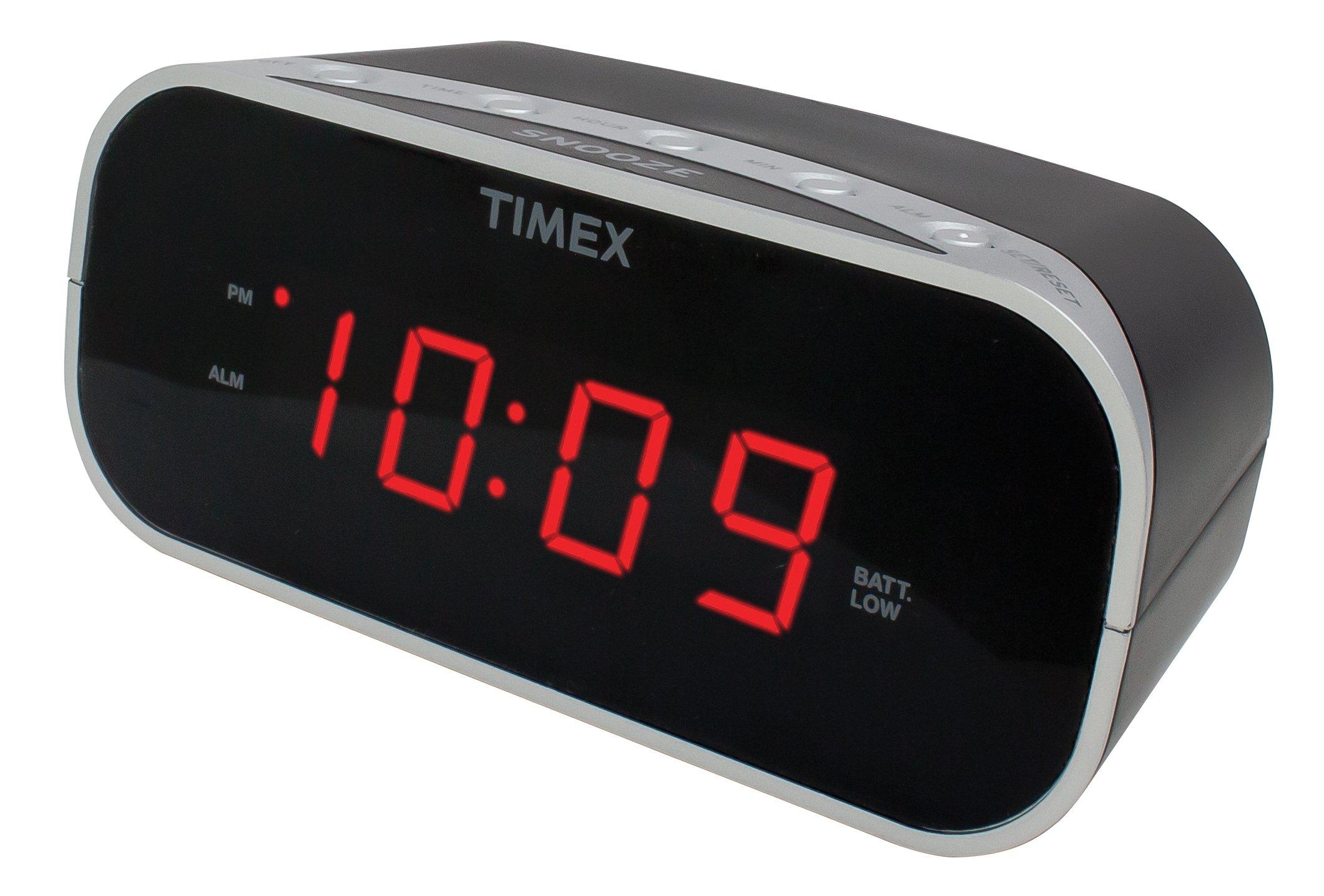 Timex T121B Alarm 0 7 Inch Display