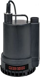 Red Lion RL-MP25 2200 Gph 1/4 HP Thermoplastic Submersible Utility Pump