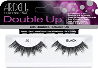 Ardell Double Up Human Hair False Eyelashes, Black 201 by Ardell