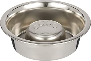 slow feed dog food bowl