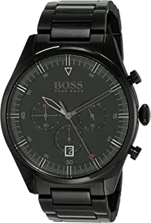 Hugo Boss Mens Quartz Wrist Watch, Chronograph and Stainless Steel- 1513714