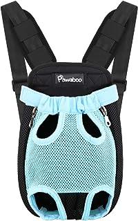 Pawaboo Pet Carrier Backpack, Adjustable Pet Front Cat Dog Carrier Backpack Travel Bag,..