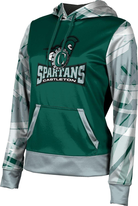 ProSphere Castleton University Girls' Pullover Hoodie, School Spirit Sweatshirt (Crisscross)