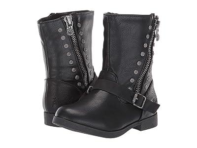 Blowfish Kids Spicy-T (Toddler/Little Kid) (Black Bronco PU/Utah PU) Girls Shoes