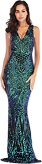 Best emerald green fishtail prom dress Reviews