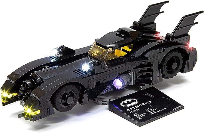 US SELLER - FITS LEGO 1989 Batman Custom Batmobile Set w// Batman Figure