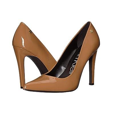 Calvin Klein Brady (Hematite Patent) High Heels