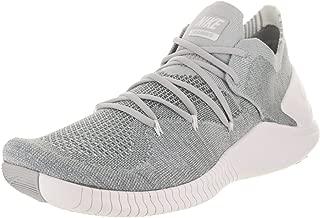 Nike Women's Free Tr Flyknit 3 Wolf Grey/White Training Shoe 9.5 Women US