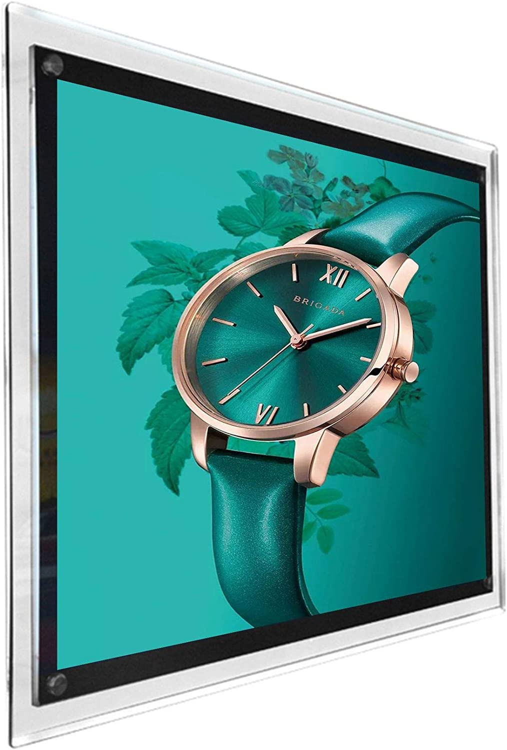 A2 Clip Photo Holders snap Aluminum Poster Frames led Picture Frames Light Boxes Advertising Store Signs Display