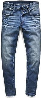 G-Star RAW(ジースターロゥ) 3301 ストレート ジーンズ メンズ デニムパンツ ロング ストレッチパンツ W31 x L32