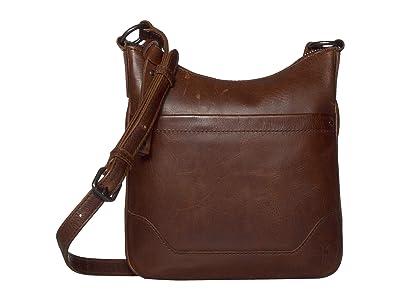 Frye Melissa Swing Pack (Dark Brown) Cross Body Handbags
